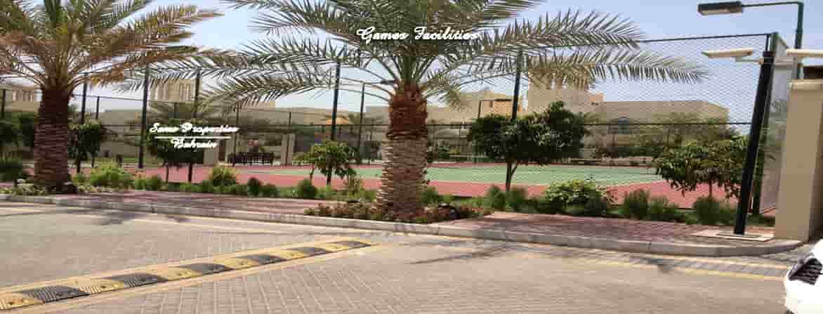 private villa games court