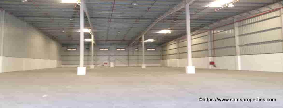 large storage space