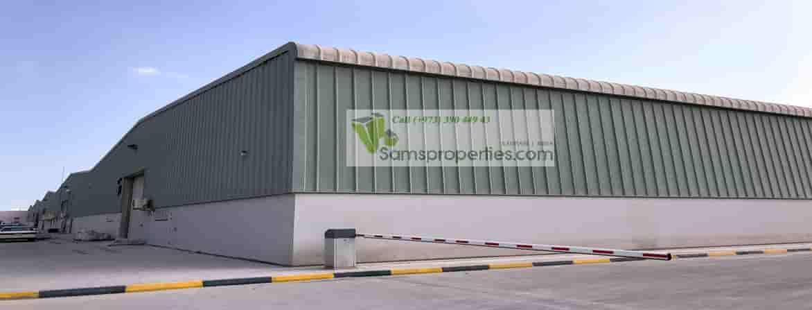 large warehouse workshop