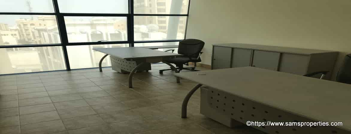 furnished office flats