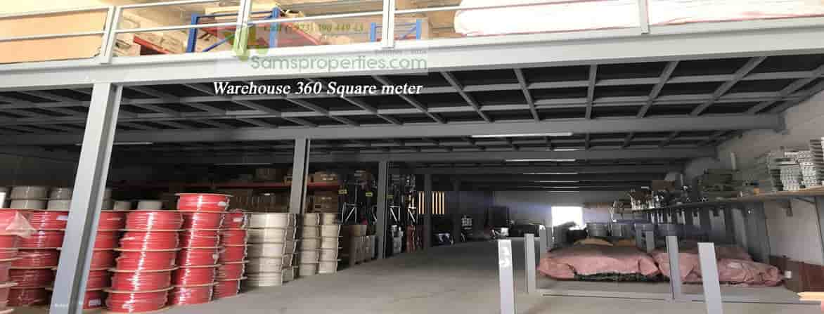 industrial warehouse rent