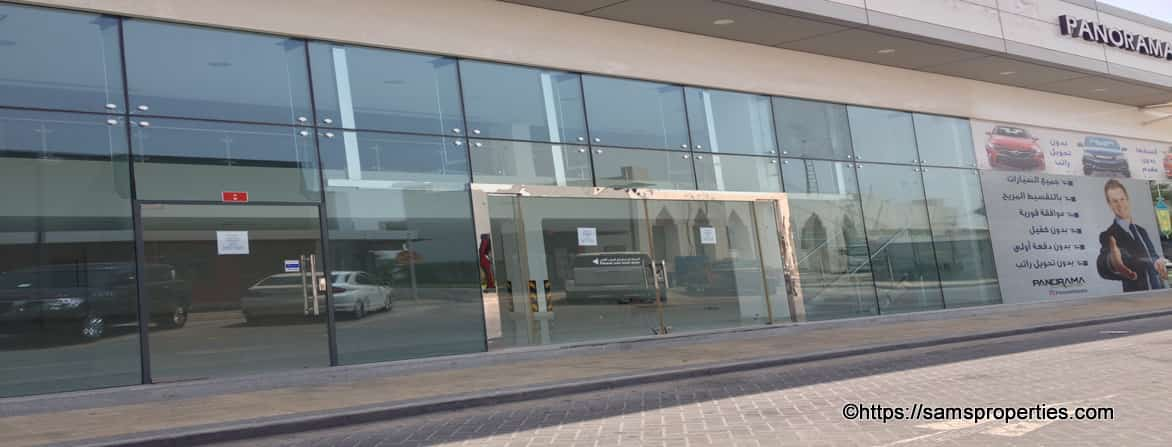 bahrain showroom rent