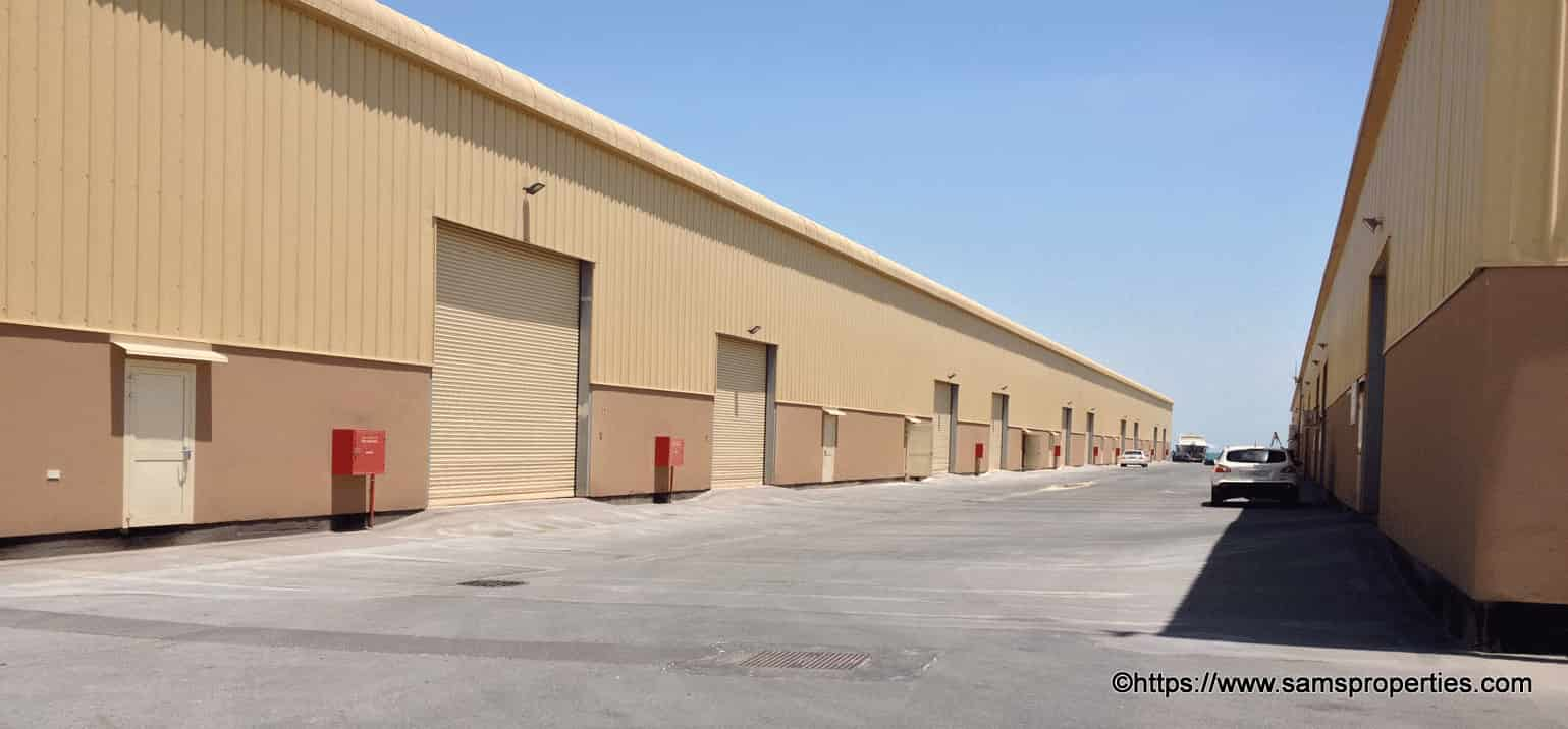 bahrain warehouses rent