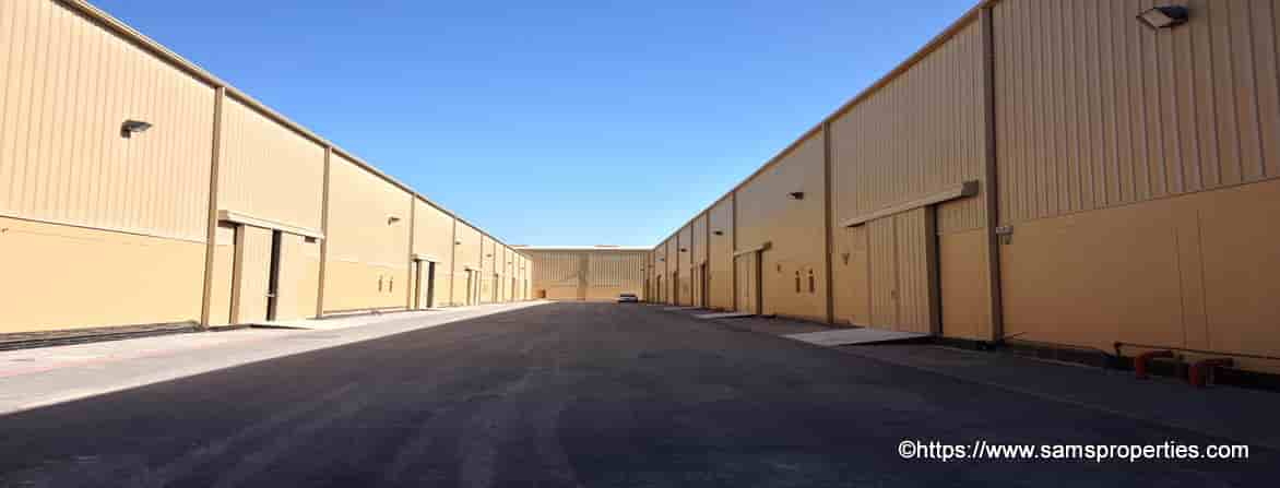 warehouse storage space