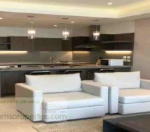 furnished one-bedroom