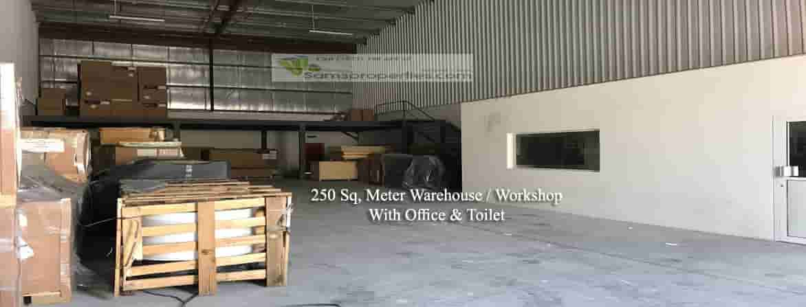 warehouse with office salmabad