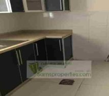 flat with closed kitchen