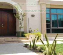 semi-furnished villa riffa views