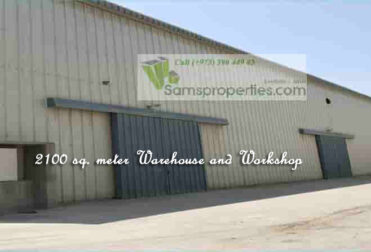 Industrial workshop warehouse