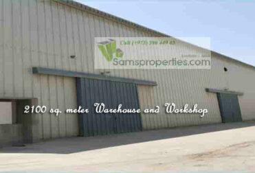 Industrial workshop warehouse
