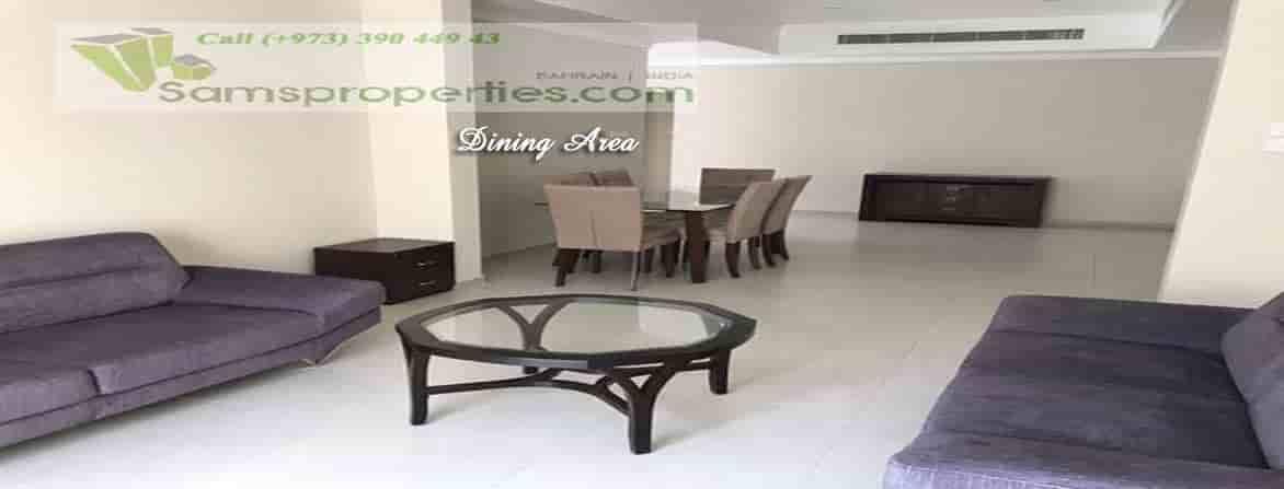 three-bedroom unfurnished villa