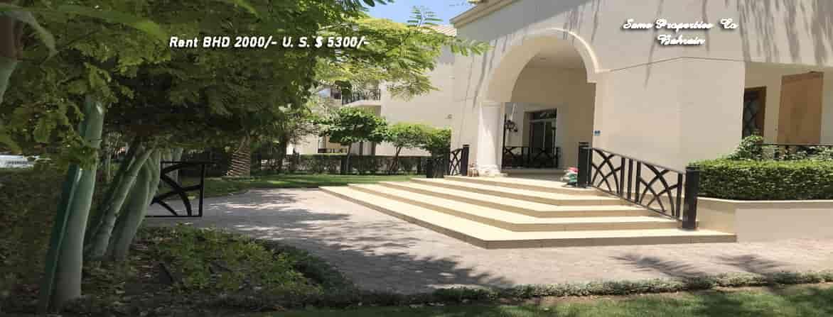 semi furnished private villa