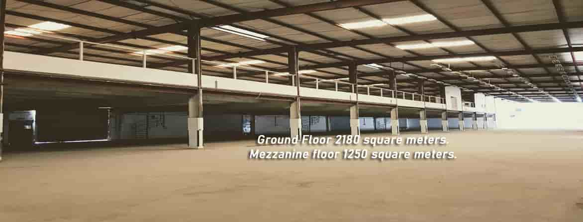 warehouse with high power